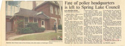 Preston and Old Building article.1